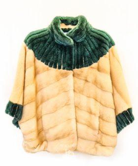 chaqueta de vison para mujer
