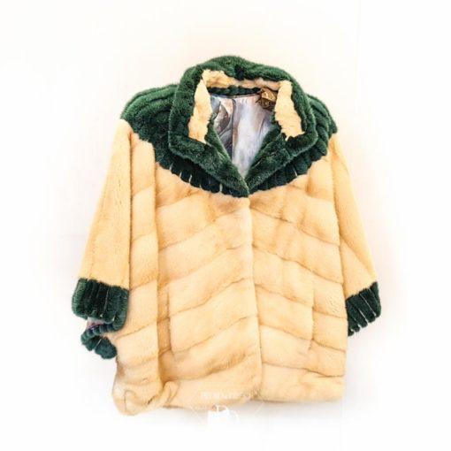 chaqueta vison mujer