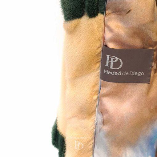 chaqueta vison juvenil anis vtej 7