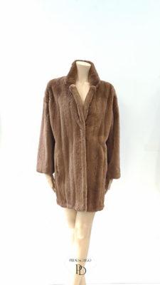 abrigo vison despinzado arreglado