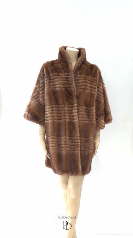 arreglo abrigo vison moderno