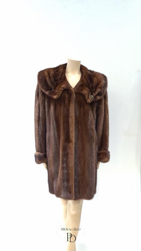 antiguo abrigo vison para arreglar