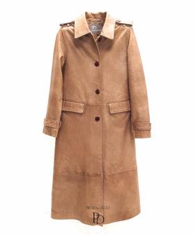 abrigo piel mujer cuero napa